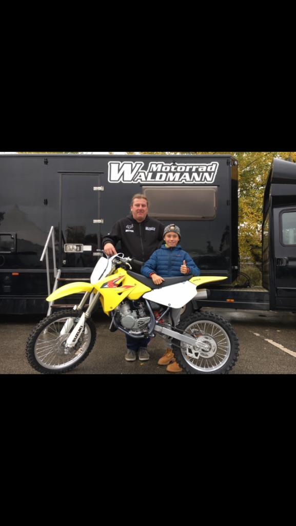 Maximilian Werner auf Suzuki, Motorrad Waldmann